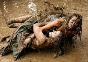 berkubang lumpur